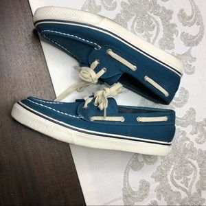 Blue Sperry shoes size 8 1/2